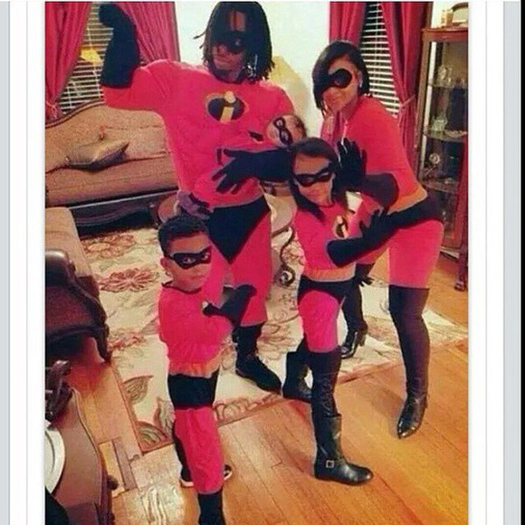 fashion jumpsuit incredibles family halloween costume