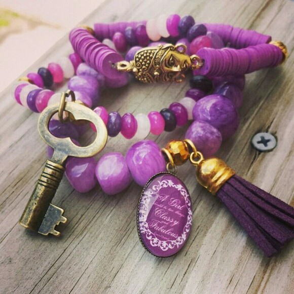 jewels bracelets beaded buddha style namaste