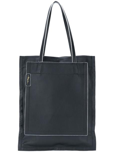 3.1 Phillip Lim - Accordion shopper - women - Leather - One Size, Black, Leather