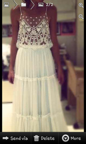 dress,white,see through,lace,flowy