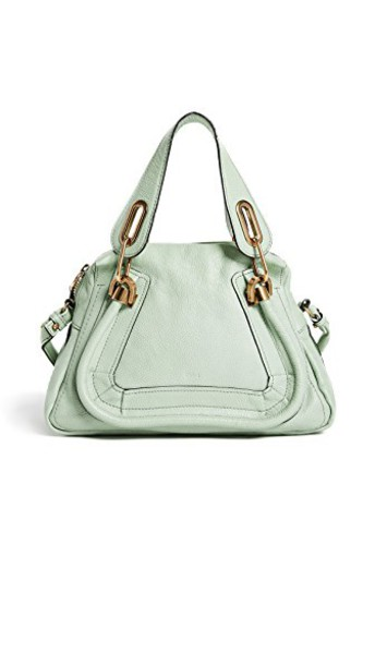 What Goes Around Comes Around cross bag leather green