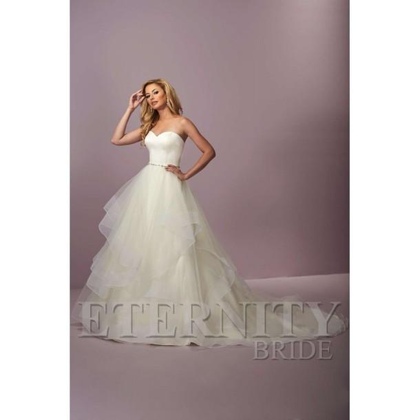 Dress Bridesmaid Wedding Dress Half Diamond Eternity Ring