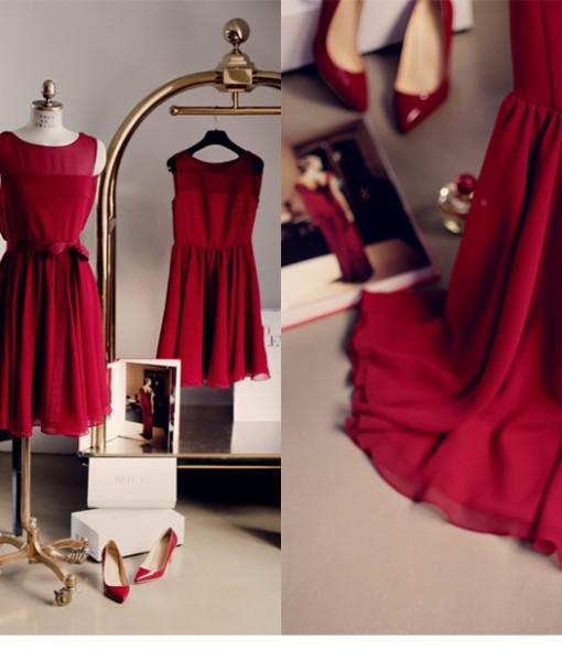 2014 new Korean female fashion sleeveless chiffon dress high quality Slim yards vest bottoming dress free shipping. | Amazing Shoes UK
