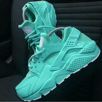 shoes huarache tiffany blue nikes nike