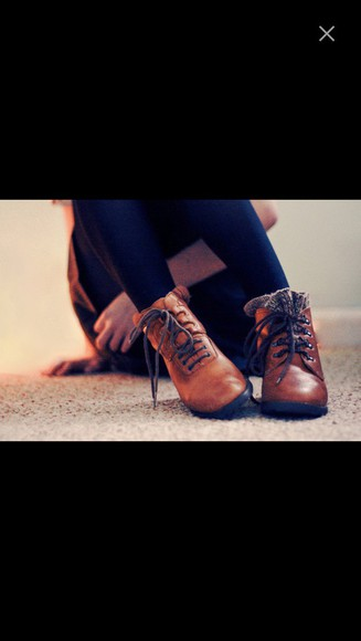 shoes ankle boots brown leather boots fall style