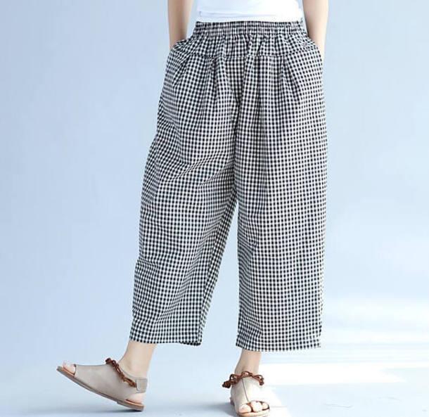 pants plaid pants