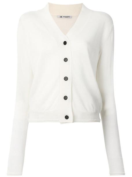 BARENA cardigan cardigan women white wool sweater
