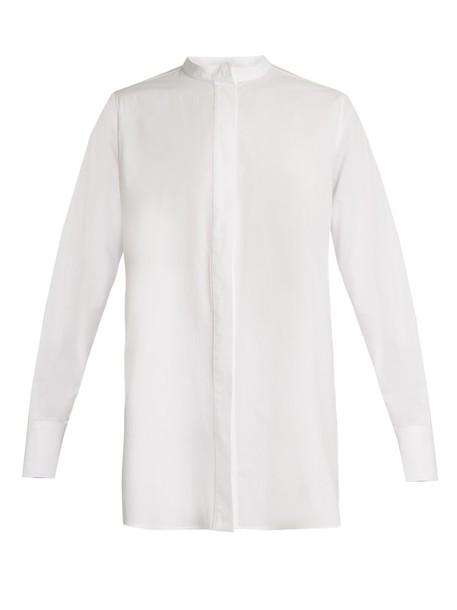 Joseph shirt cotton white top