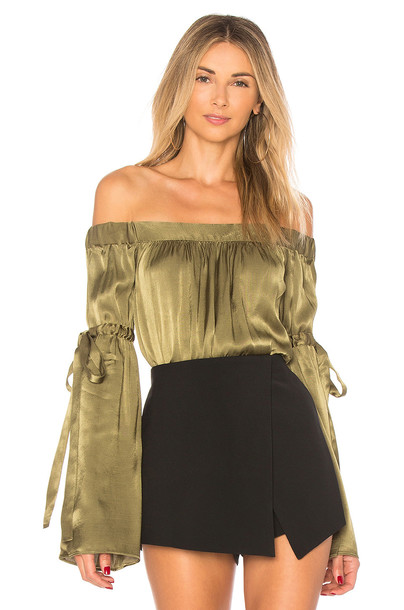 L'Academie blouse top