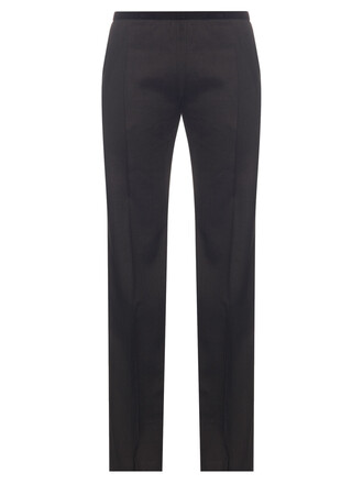 wool black pants