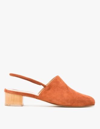 shoes mules brown shoes sandals