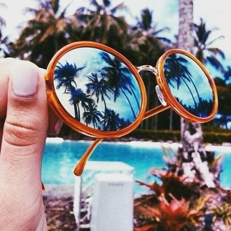 sunglasses summer beach ??? rounded sunglasses mirrored sunglasses summer accessories