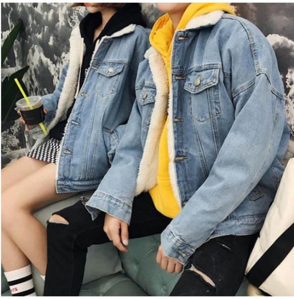 jacket blue denim jacket denim fur fur jacket tumblr