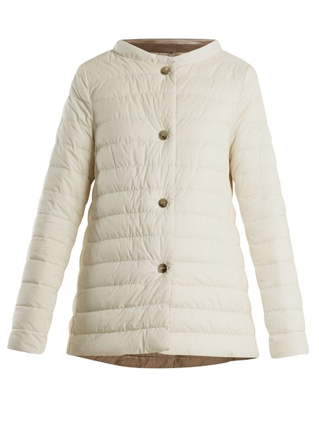 Herno jacket quilted white