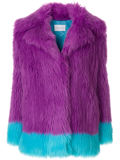 Alberta Ferretti jacket women purple pink