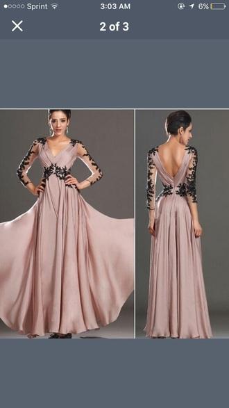 dress prom dress ball gown dress lace dress formal dress floral v neck dress