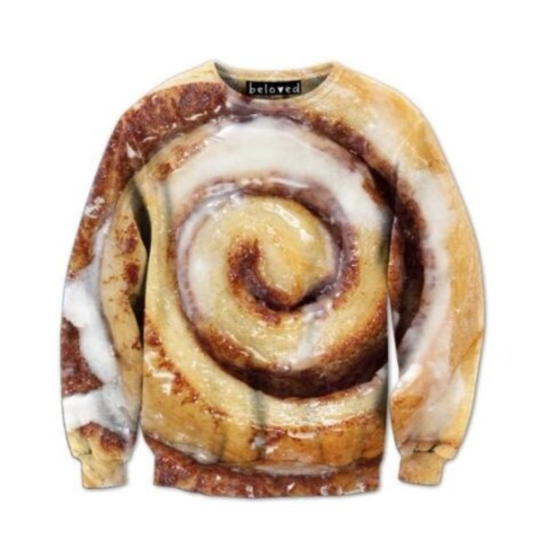 sweater cinnamon roll
