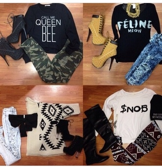 shirt queen queen b snob cute dress cute cute sweaters little black dress maxi dress red dress lace dress hippie hipster h&m vans cool shirts funny shirt 90s grunge 90s style girly grunge converse high top converse shoes jeans