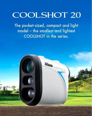 Nikon CoolShot 20 | Golf Range Finder | Laser Range Finder