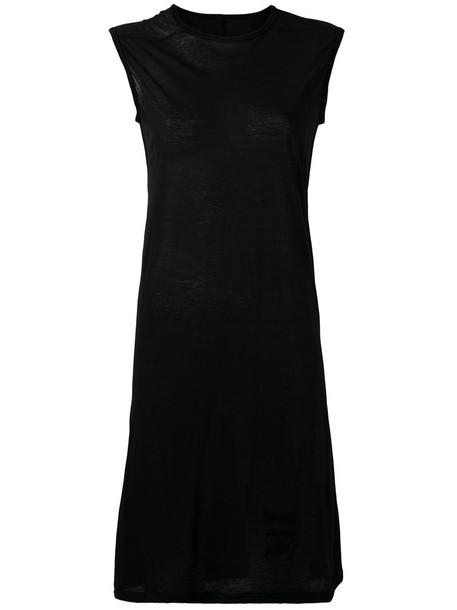 Rick Owens DRKSHDW dress women cotton black