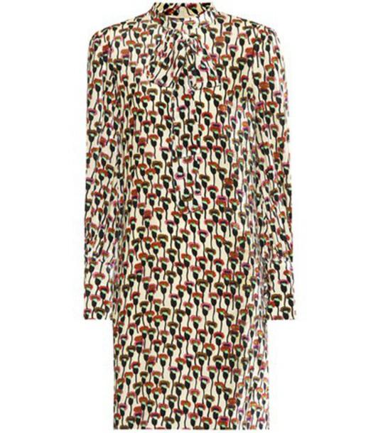 Chloé Printed velvet dress