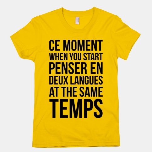 Ce Moment When | HUMAN | T-Shirts, Tanks, Sweatshirts and Hoodies