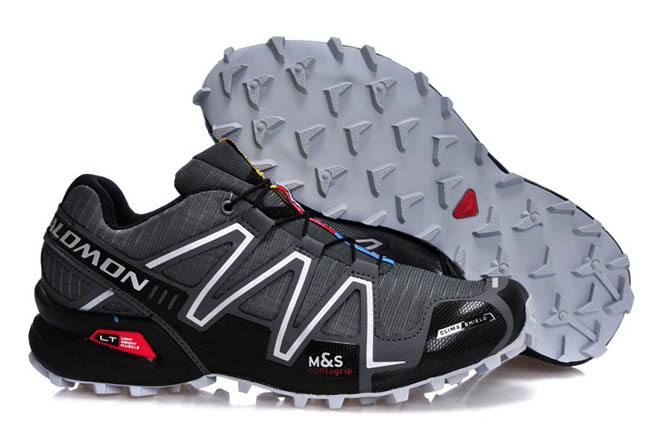 mens salomon speedcross black