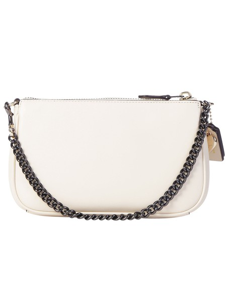 coach handbag white bag