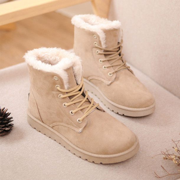 Awesome Shoes Ankle Boots Women Winter Snow Boots Fashion Boots Warm Boots
