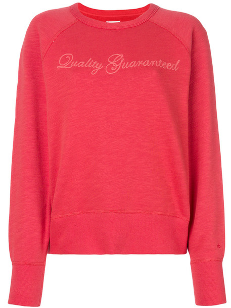 Rag & Bone jumper women cotton red sweater