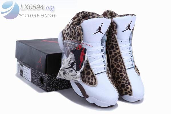 Air Jordan 13 Retro Leopard print chocolate - $78.90