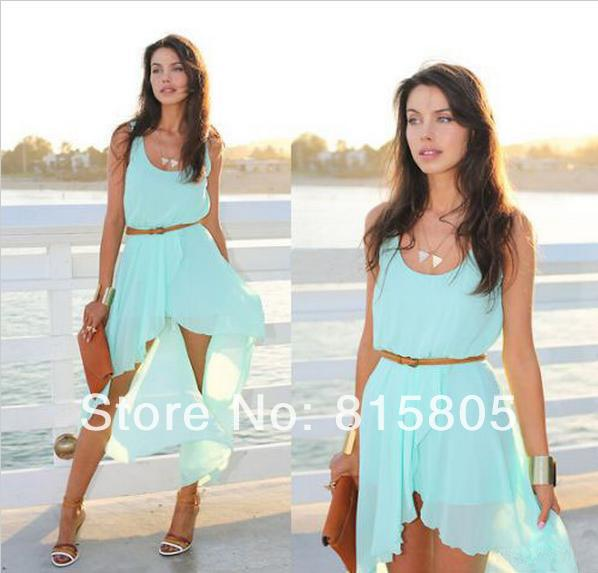 Chiffon Summer Dresses - Qi Dress
