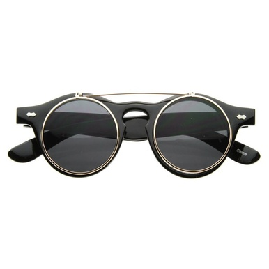 Retro Flip Up Sunnies - Arad Denim