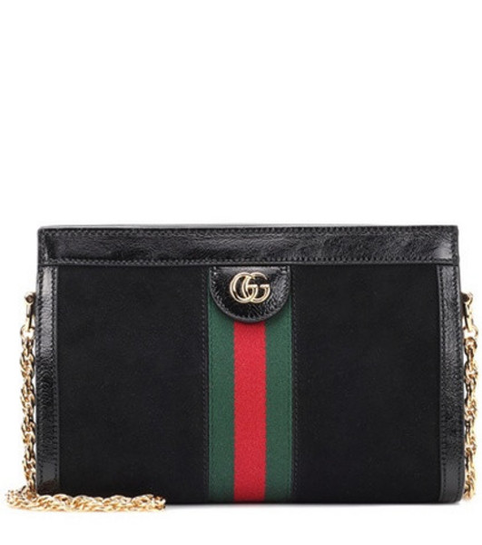 Gucci Ophidia Small shoulder bag in black