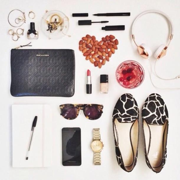 shoes ballerine sunglasses