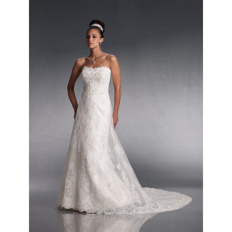 Mon Cheri J11008 Bridal Gown (2010) (MC10_J11008BG) - Crazy Sale Formal Dresses|Special Wedding Dresses|Unique 2017 New Style Dresses