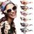 Vintage Retro 3D Flower Rose Embellished Baroque Cat Sunglasses Shades Sunnies | eBay