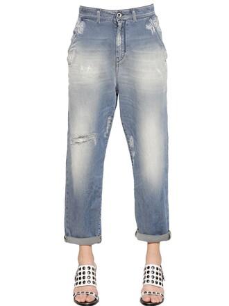 jeans denim boyfriend blue