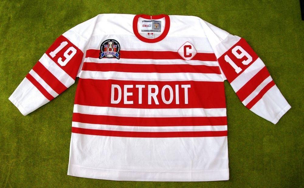 ... Steve Yzerman Vintage Detroit Red Wings JerseyShirt XXL ... d588e9977e5