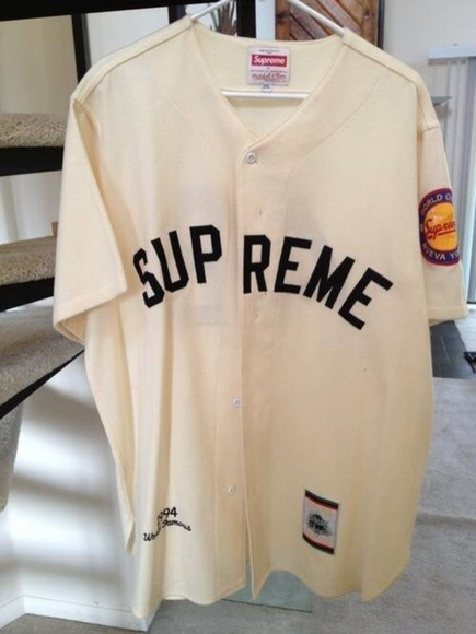blouse supreme baseball shirt supreme supreme shirt