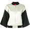Opening ceremony - multi bomber jacket - women - silk/polyester/spandex/elastane - m, black, silk/polyester/spandex/elastane