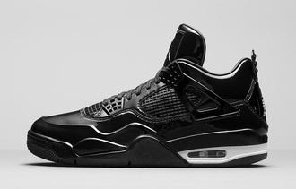 shoes air jordan retro 4 black jordans air jordan