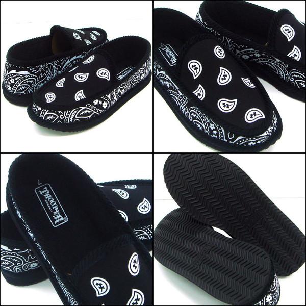 navy blue bandana house shoes slippers trooper brand new