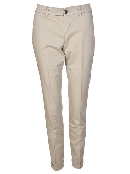 Fay Skinny Fit Jeans in beige / beige