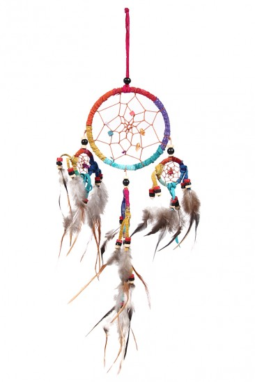 LoveMelrose.com From Harry & Molly | Multi Color Dream Catcher