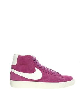 Nike blazer pink high top trainers at asos