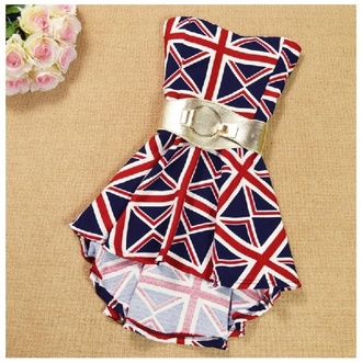 dress union jack gold belt