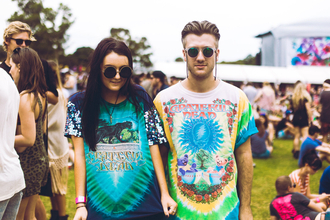 t-shirt psychedelic tie dye festival rainbow unisex hipster indie hippie alternative colorful