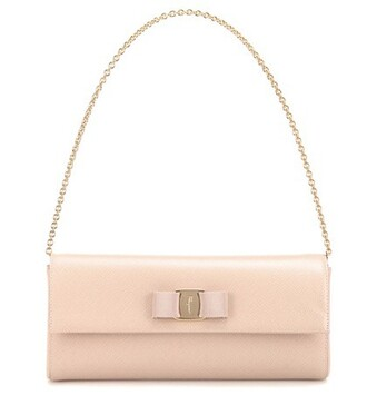leather clutch clutch leather beige bag