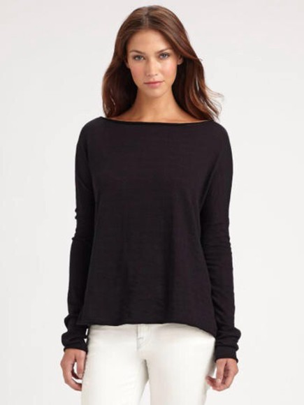 studs swag blacksweater oversized sweater style